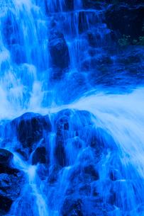 七滝の水流の写真素材 [FYI02999752]