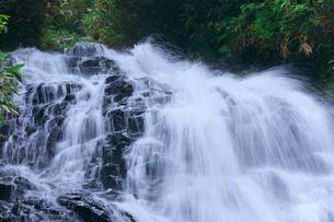 七滝の水流の写真素材 [FYI02999838]