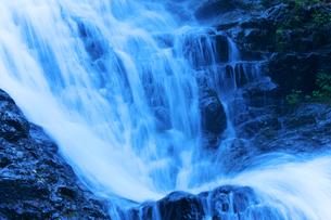 七滝の水流の写真素材 [FYI02999839]