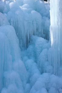 尾ノ内渓谷の氷柱の写真素材 [FYI03000686]