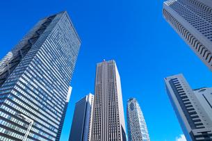 西新宿の高層ビル群の写真素材 [FYI03001419]