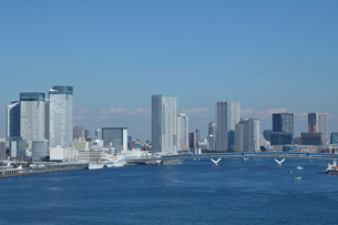東京のビル群の写真素材 [FYI03001425]