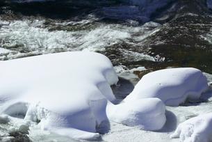 冬の竜頭の滝の写真素材 [FYI03001687]