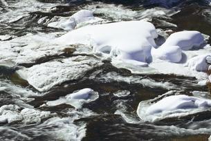 冬の竜頭の滝の写真素材 [FYI03001708]