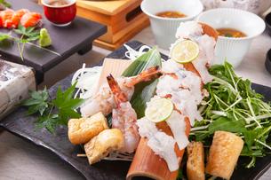 和食コースイメージの写真素材 [FYI03003605]