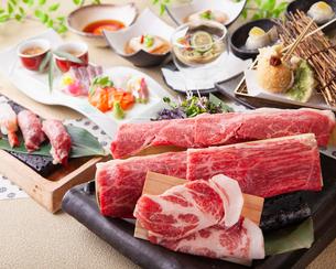 和食コースイメージの写真素材 [FYI03003609]