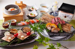 和食コースイメージの写真素材 [FYI03003610]