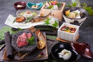 和食コースイメージの写真素材 [FYI03003622]