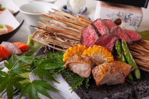 和食コースイメージの写真素材 [FYI03003625]
