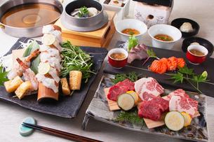和食コースイメージの写真素材 [FYI03003627]