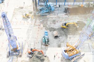 工事現場の写真素材 [FYI03003751]