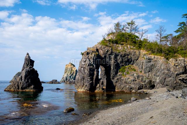 青海島の写真素材 [FYI03003779]