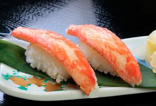 カニ寿司の写真素材 [FYI03003935]