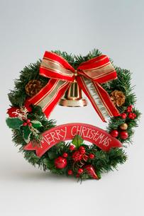 クリスマスリースの写真素材 [FYI03003937]