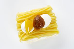 モンブランケーキの写真素材 [FYI03003938]
