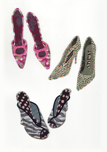 50's 小物 靴の写真素材 [FYI03003979]