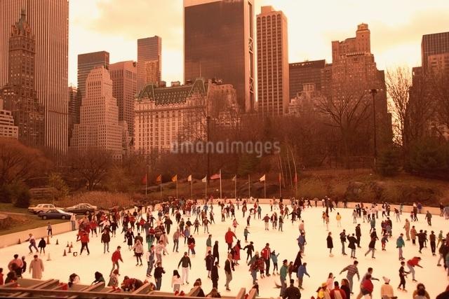 セントラルパーク    ニューヨーク アメリカの写真素材 [FYI03004249]