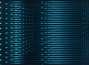 点と線横流れの写真素材 [FYI03004347]