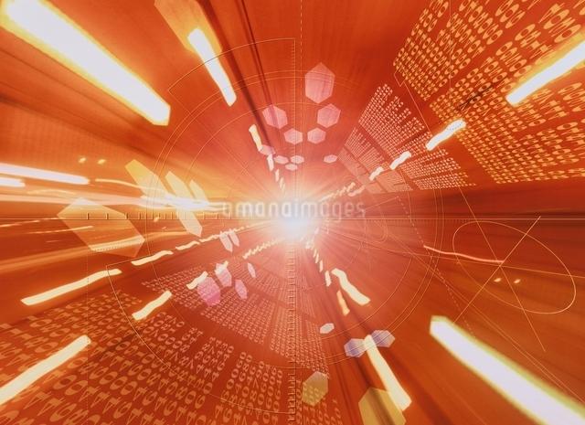 データ通信のイメージ  CGの写真素材 [FYI03004353]