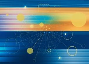 データ通信のイメージ CGの写真素材 [FYI03004354]