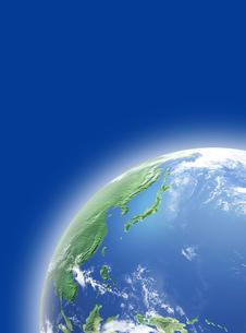 地球  CGイラストの写真素材 [FYI03004560]