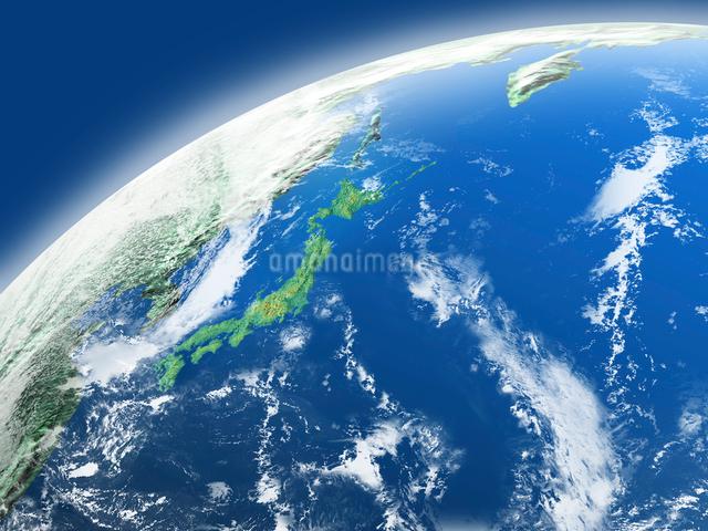 地球  CGイラストの写真素材 [FYI03004565]