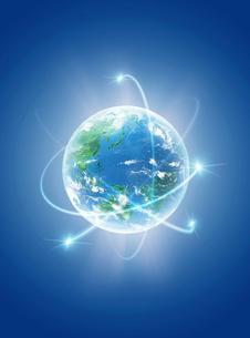 地球  CGイラストの写真素材 [FYI03004567]