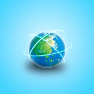 地球イメージのイラスト素材 [FYI03004604]