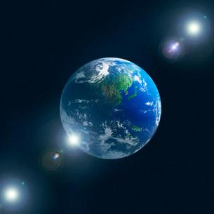 地球イメージのイラスト素材 [FYI03004623]