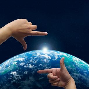 地球イメージのイラスト素材 [FYI03004625]