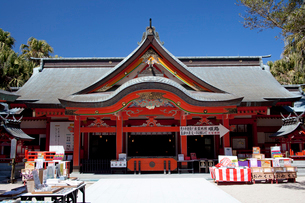 青島神社の写真素材 [FYI03004681]