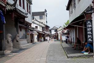 錦渓の街並の写真素材 [FYI03004721]