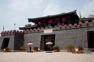三国志テーマパークの三国城の写真素材 [FYI03004812]
