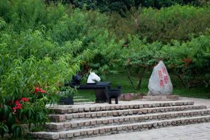 三国志テーマパークの三国城の写真素材 [FYI03004822]