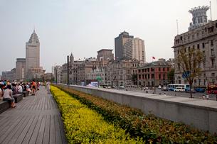 上海 外灘のビル群の写真素材 [FYI03004847]