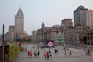 上海 外灘のビル群の写真素材 [FYI03004848]