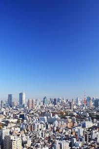 東京タワーと高層ビル群の写真素材 [FYI03005033]