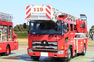 消防車の写真素材 [FYI03005057]