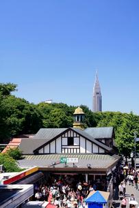 原宿駅の写真素材 [FYI03005086]