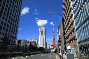 東京タワーの写真素材 [FYI03005093]