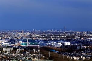 相模原市から横浜を望むの写真素材 [FYI03005146]