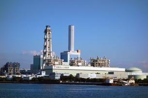 南横浜火力発電所の写真素材 [FYI03005186]
