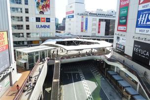 ペデストリアンデッキのある町田駅界隈の写真素材 [FYI03005232]