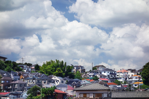 横浜市の住宅街の写真素材 [FYI03005255]