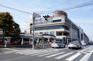 横浜市 日吉駅界隈の写真素材 [FYI03005312]