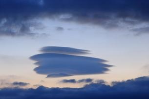 七重の傘雲の写真素材 [FYI03005320]