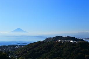 神奈川県,国際国際村からの富士山の写真素材 [FYI03005446]