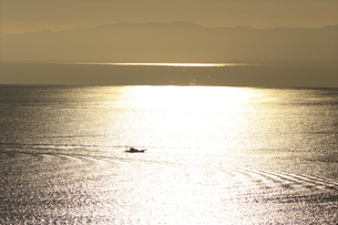 神奈川県,湘南の漁船の写真素材 [FYI03005455]