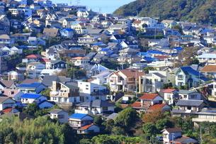 神奈川県,葉山の住宅街の写真素材 [FYI03005484]