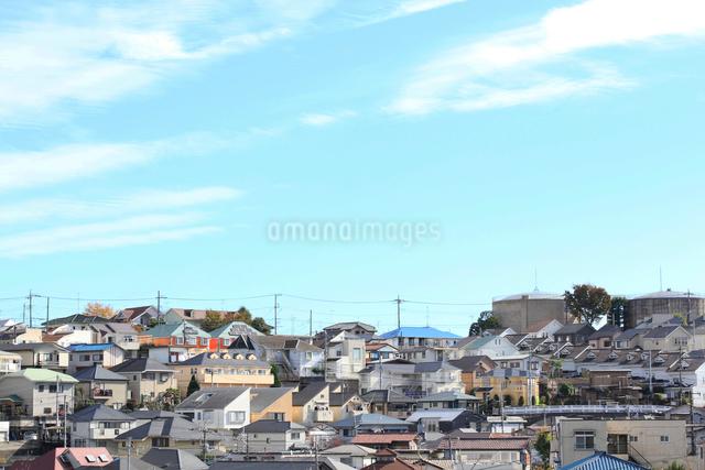 川崎市多摩区の住宅街の写真素材 [FYI03005585]